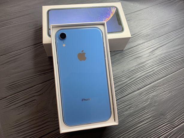 iPhone Xr 64gb Blue Магазин гарантия