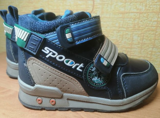 Демисезонные ботинки сапоги хайтопы