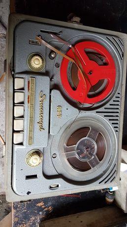 Magnetofon szpulowy RFT smaragd