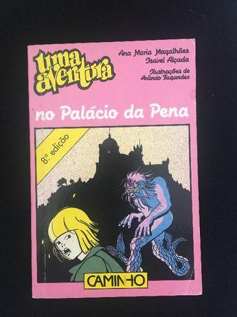 """Livro """"Uma Aventura no Palácio da Pena"""""""