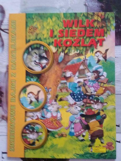 Wilk i siedem koźlątek książka dla dzieci