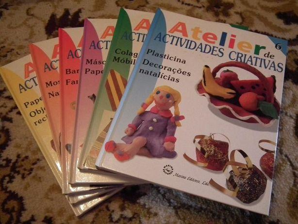 enciclopédia para pré escolar colecção ATELIER