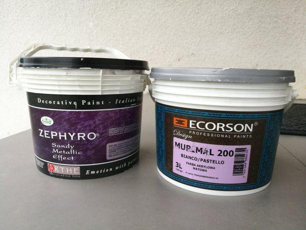Sprzedam farbę ZEPHYRO SILVER BASE + podkład Murinal 200
