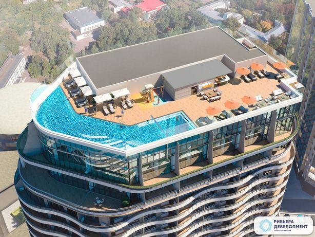 1 комнатная квартира 26.74 м² (890 $)