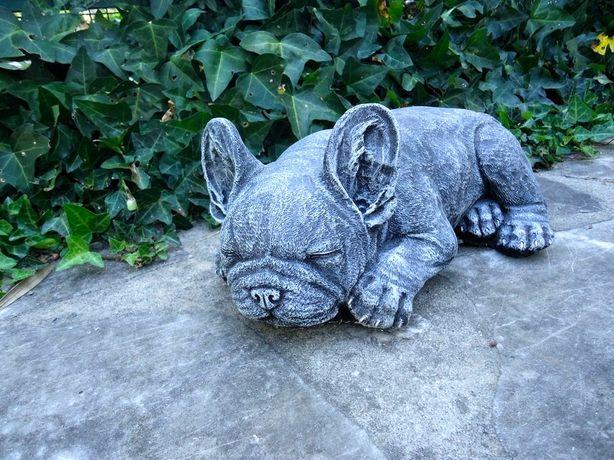 Bulldog Francês - Decoração em pedra