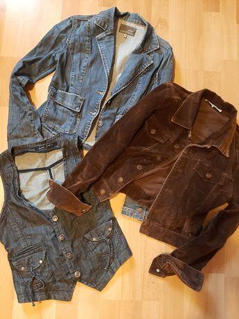 Ubrania xs kurtki sukienki zamienię