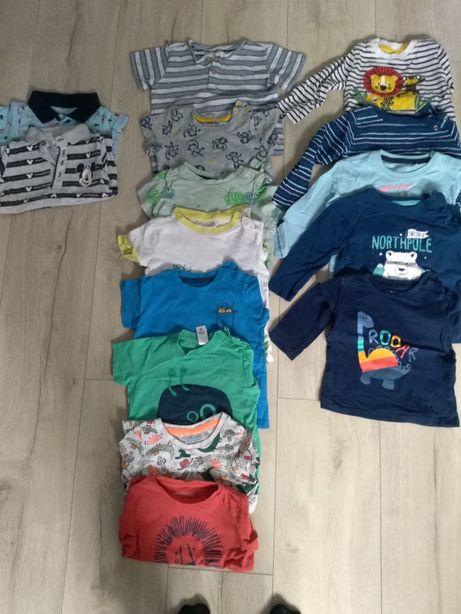 Ubranka dla chłopca w rozmiarze 74-86