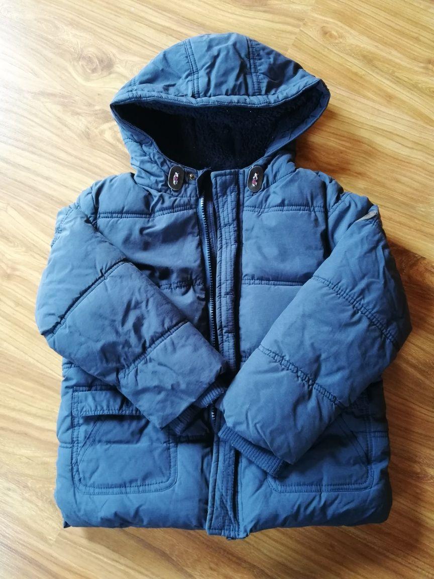 Bardzo ciepła kurtka Rebel dla chłopca 7-8 lat, 128 cm