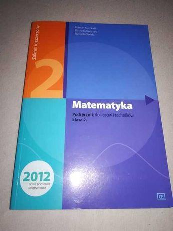 Matematyka 2 podręcznik zakres rozszerzony 2012 matematyka