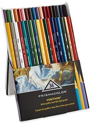 Кольорові олівці Prismacolor PREMIER Verithin 36 кол. карандаши