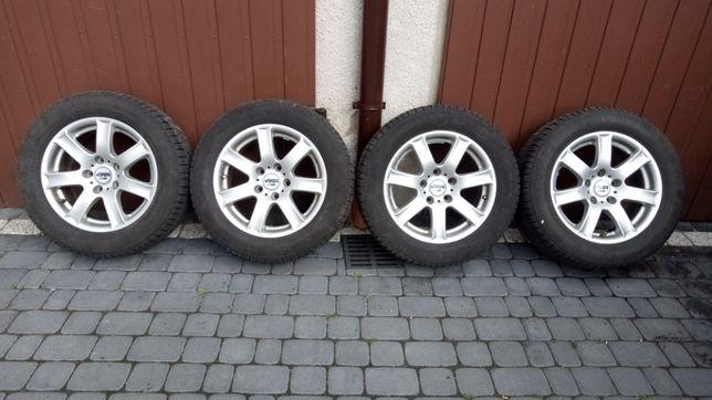 Felgi Aluminiowe RIAL R16 5x120 z oponami zimowymi 225/55 99H !!!