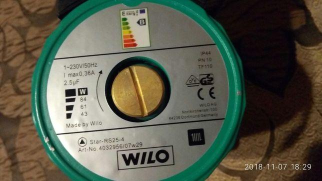 Продается циркуляционный насос Wilo