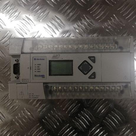 Sterownik micrologix 1400 plc 1766-L32BXB z modułami Allen Bradley