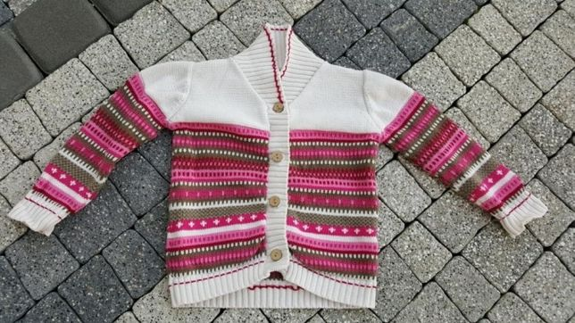 Sweter Sweterek jesienno zimowy quadri fogilo r.86