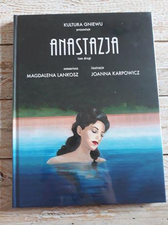 Anastazja tom 2.Magdalena Lankosz,Joanna Karpowicz. Nowa w folii