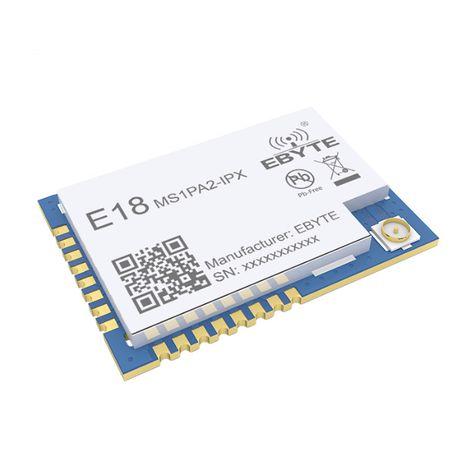 ZigBee E18-MS1PA2-IPX модуль 2,4 GHz, 1.2 км, SMD CC2530 PA LNA IPEX