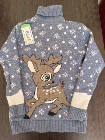 Турецкий шерстяной свитер