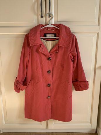 Malinowy płaszczyk vintage