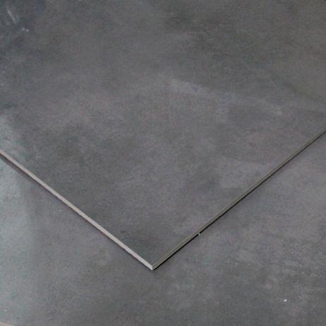 Płytki Ceramiczne Podłogowe Ścienne Gres Maxima Dark Grey Poler 59x59
