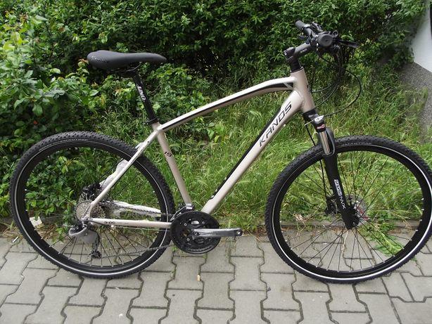 Rower crossowy KANDS AVANGARDE '28 rama 21 nowość 2020 HIT DEORE