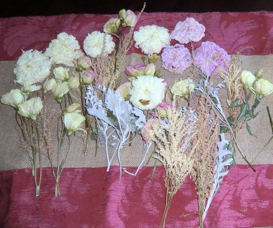 Secagem de bouquets de noiva