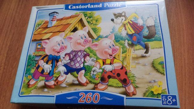 Puzzle świnki 260 el