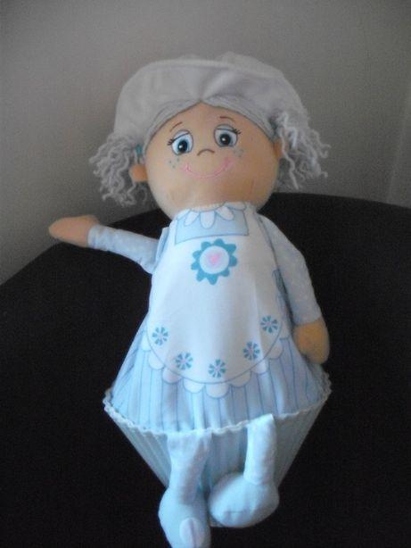 Boneca azul Little Miss Muffin