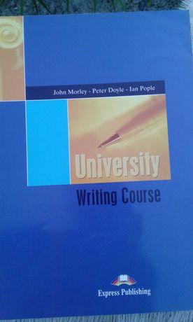 Книга, английский язык University Writing Course