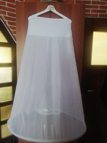Halka na kole do sukni ślubnej