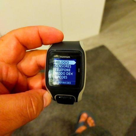 Relógio cardio TomTom multisport gps