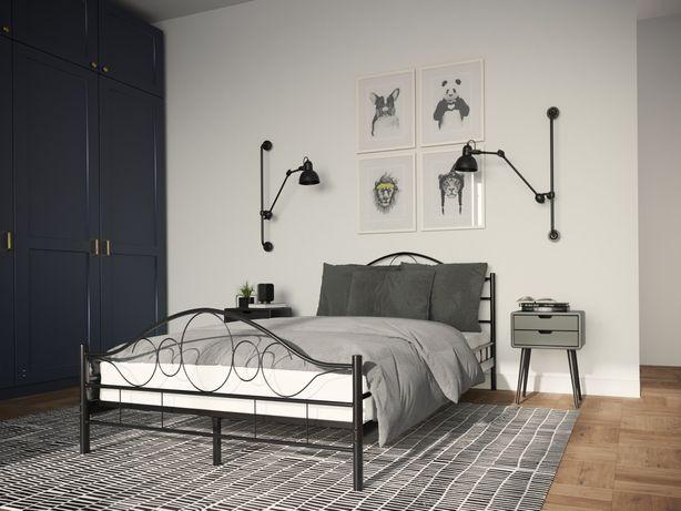 Łóżko metalowe, sypialnia. Wysyłka w 24h. Różne wymiary. Wyprzedaż!