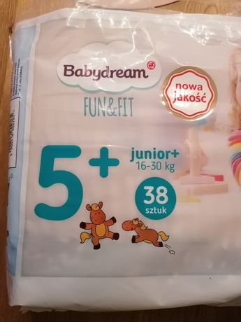 Pampersy Baby dream 5+