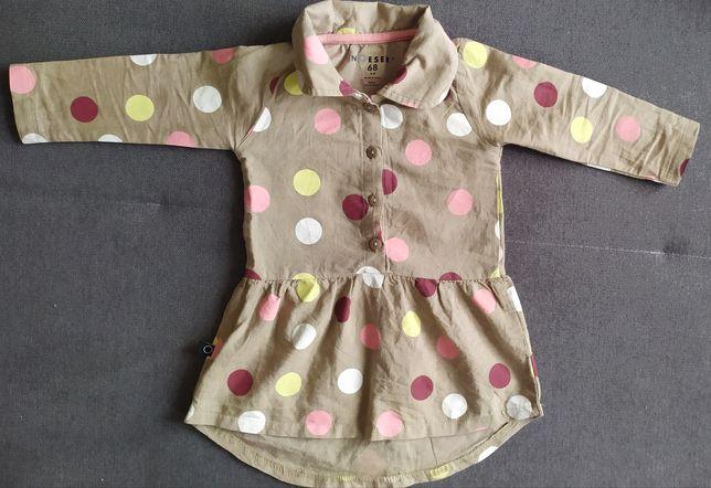 Sukienka sukieneczka rozmiar 68