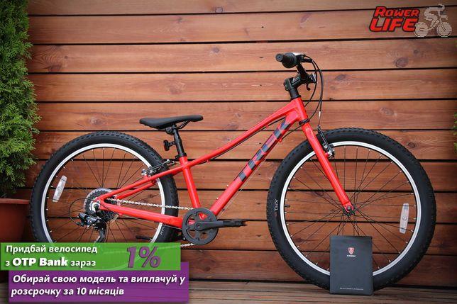 Подростковый новый велосипед Trek 2021 Precaliber 24 8-speed Boy's