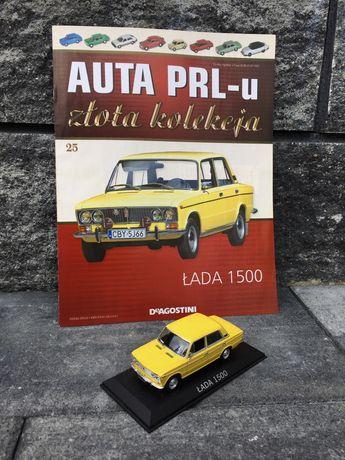 Kolekcjonerska ŁADA 1500-auta PRL,model,autka,resoraki,kolekcja,auto