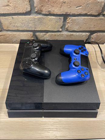 Ps 4 konsola play station 4 dwa pady zestaw +  gry