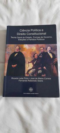 Livro de Direito . Ciência Politica e Direito Constitucional .