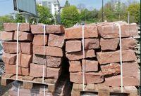 kamień murowy- piaskowiec czerwony 10/20/40cm 20/20/40cm