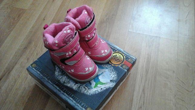 Sprzedam buty zimowe dla dziewczynki 22