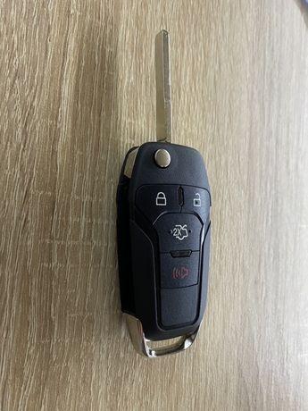 Ключ зажигания выкидной с платой под привязку к сигнализации