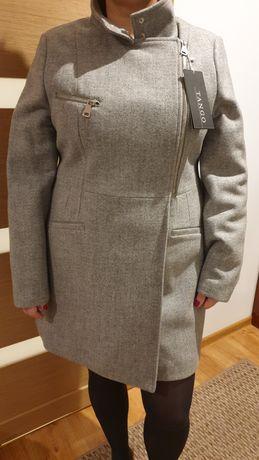 Płaszcz damski szary rozmiar 46 Nowy