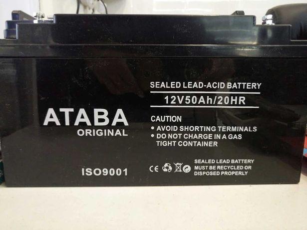 Батарея аккумулятор вольт для котла и солнечных панелей GEL тяговый