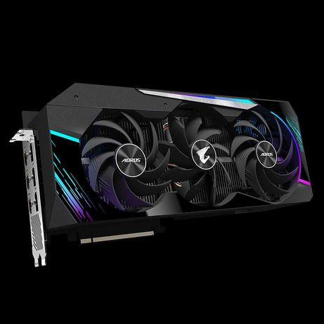 Видеокарта GIGABYTE AORUS GeForce RTX 3090 MASTER 24G