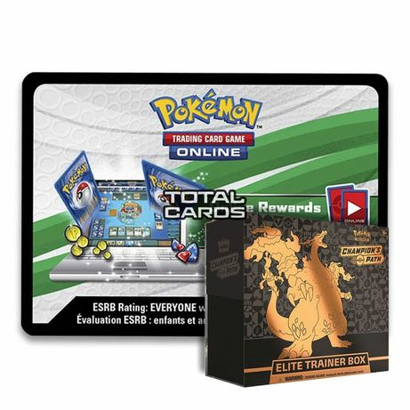 Pokemon Champion's path kody na box