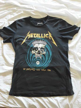 Metallica tshirt Tamanho M
