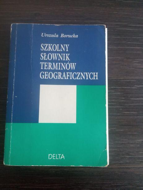 Szkolny Słownik terminów geograficznych