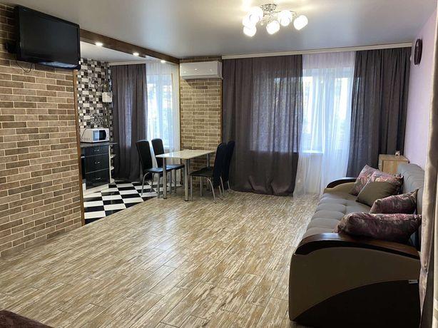 Посуточно 1 комнатная квартира центр города от хозяина