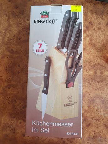 Noże z blokiem king hoff