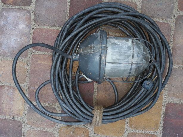 Lampa przemysłowa loft prl