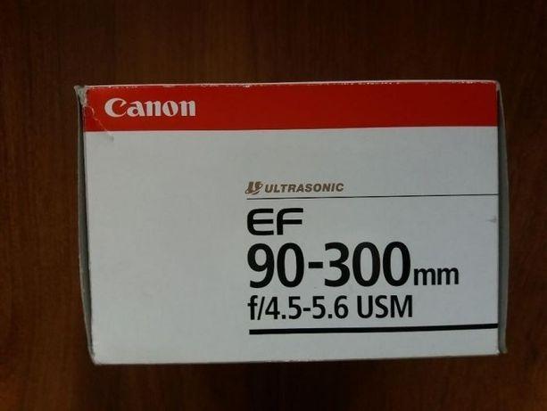 Pudełko po obiektywie 90-300 canon